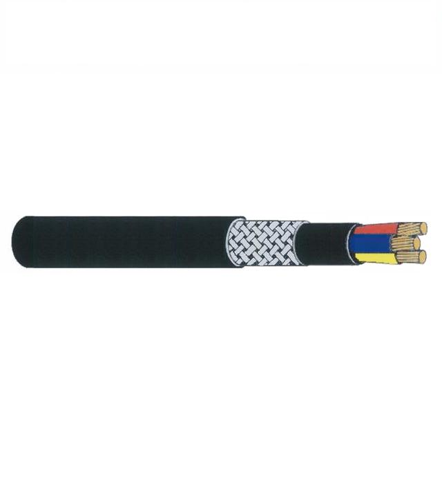 FRT-200Q / FRT-200C LSOH Flame Retardant Braided Power Cables