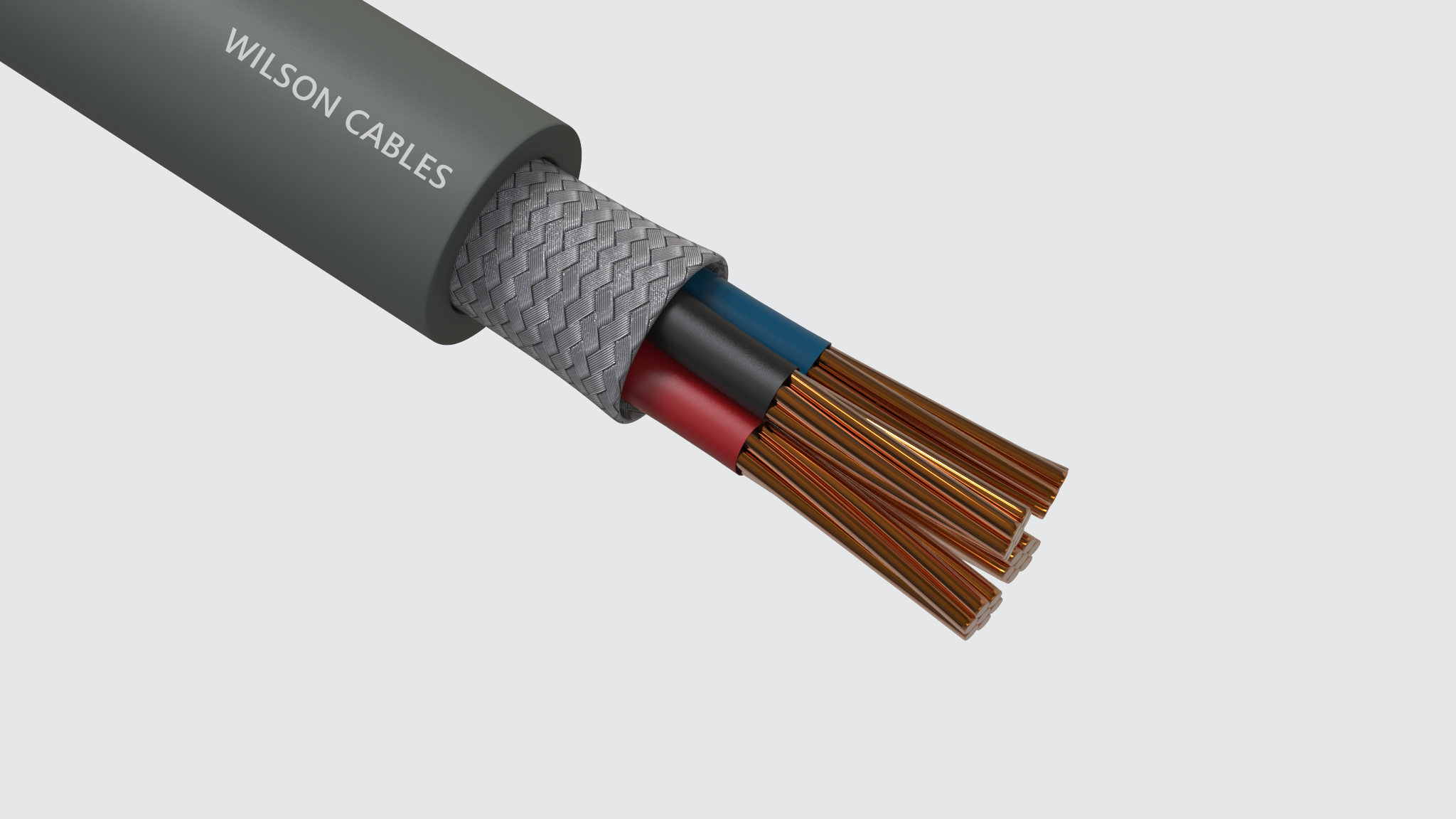 Wilson-Flex 100CY-Z / 200CY-JZ and 100CY-J / 200CY-J PVC Insulated, Screened Flexible Cables