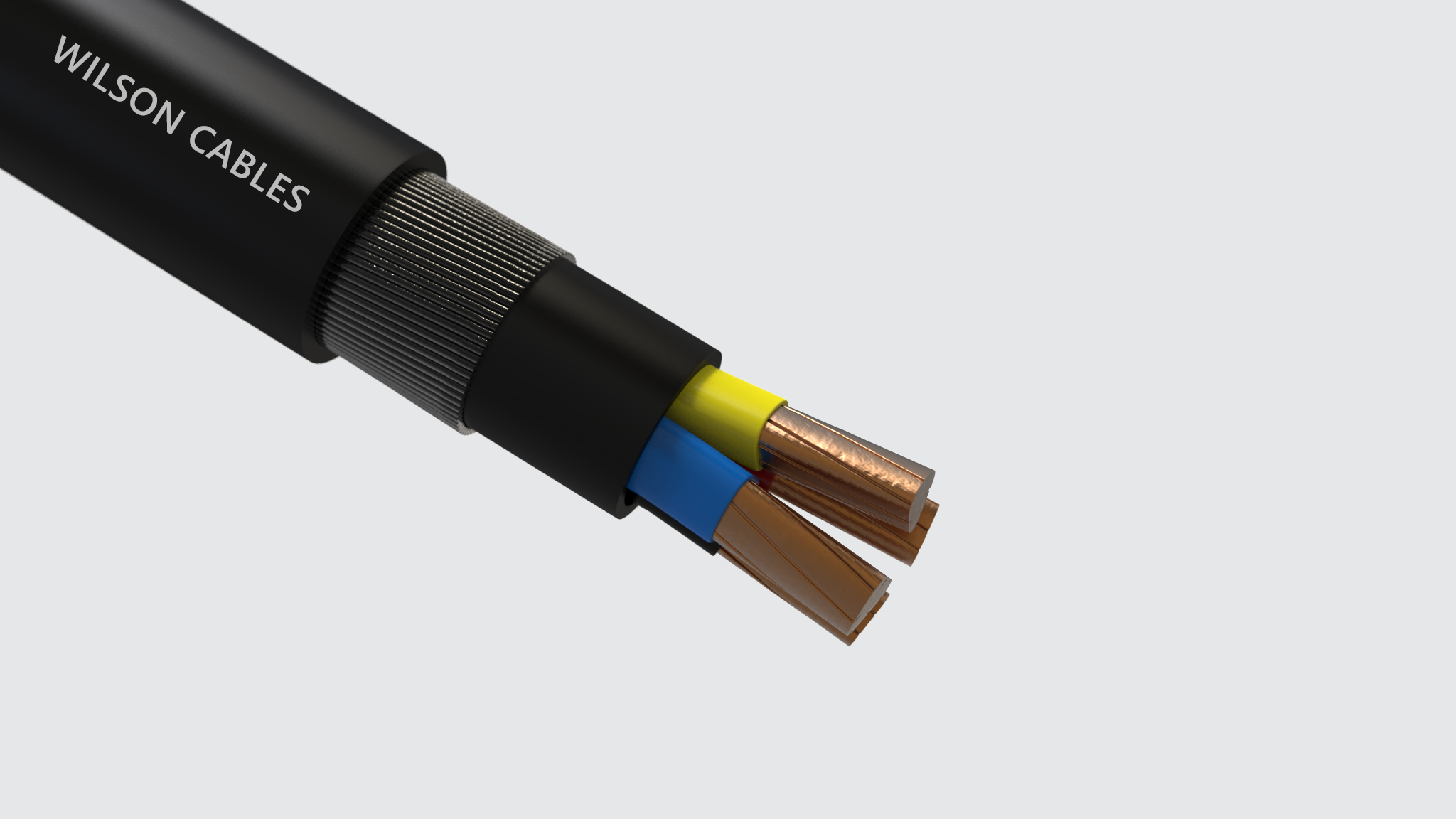 Armored Electrical Cable : Wilson cables xlpe insulated pvc sheathed armoured power