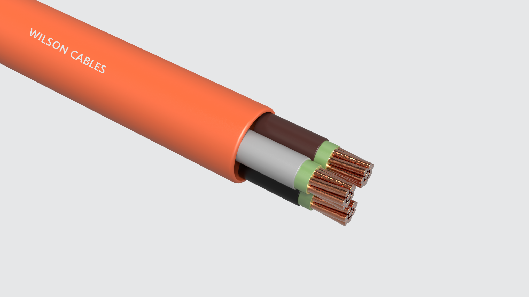 FR-200-M Fire Resistant Shipboard Power Cables