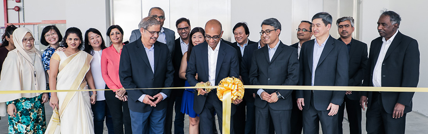 Inauguration of Wilson Cables' new facility in Singapore