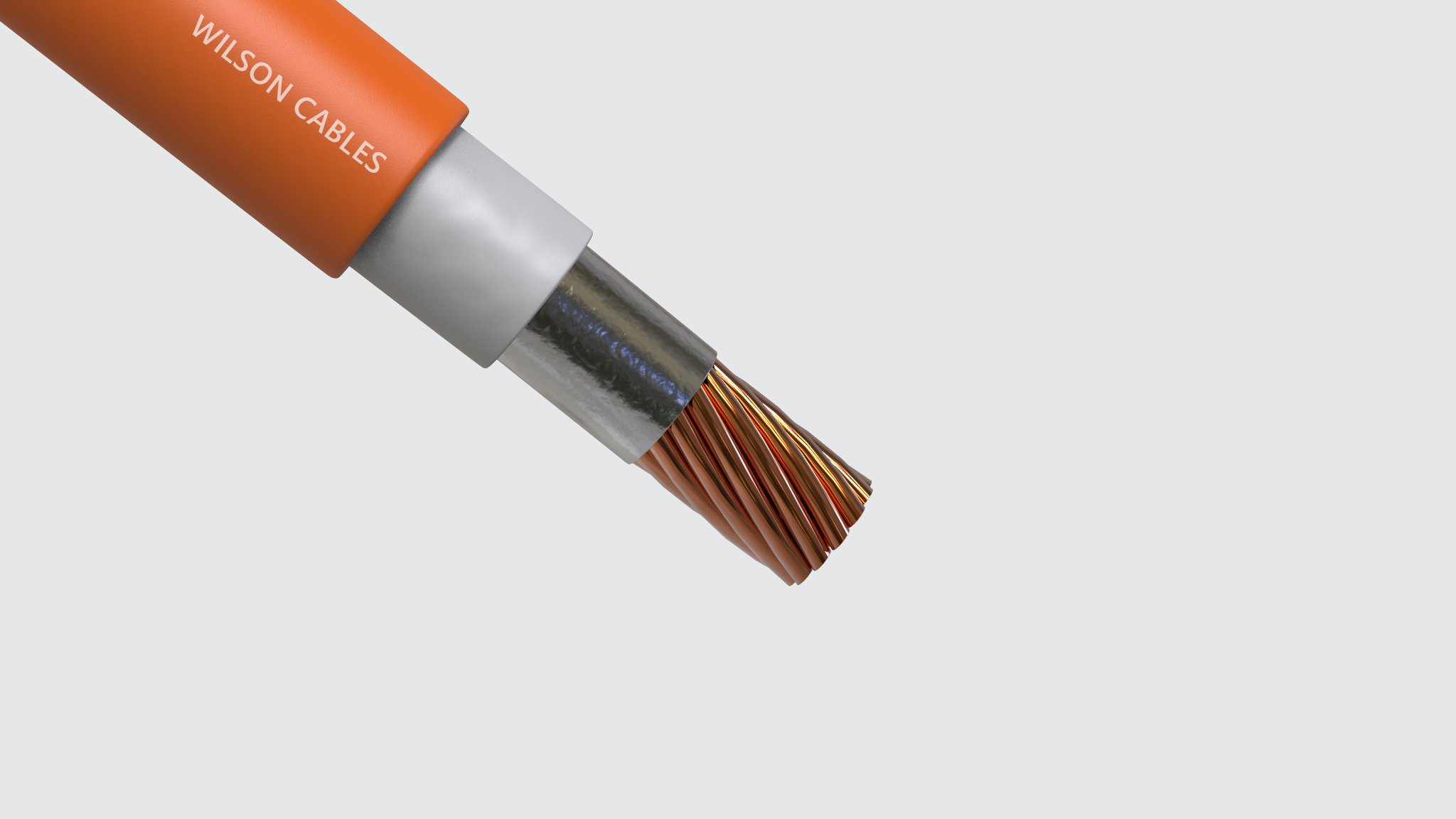 Single Core FR-200 or FR-300 Fire Resistant Power Cables