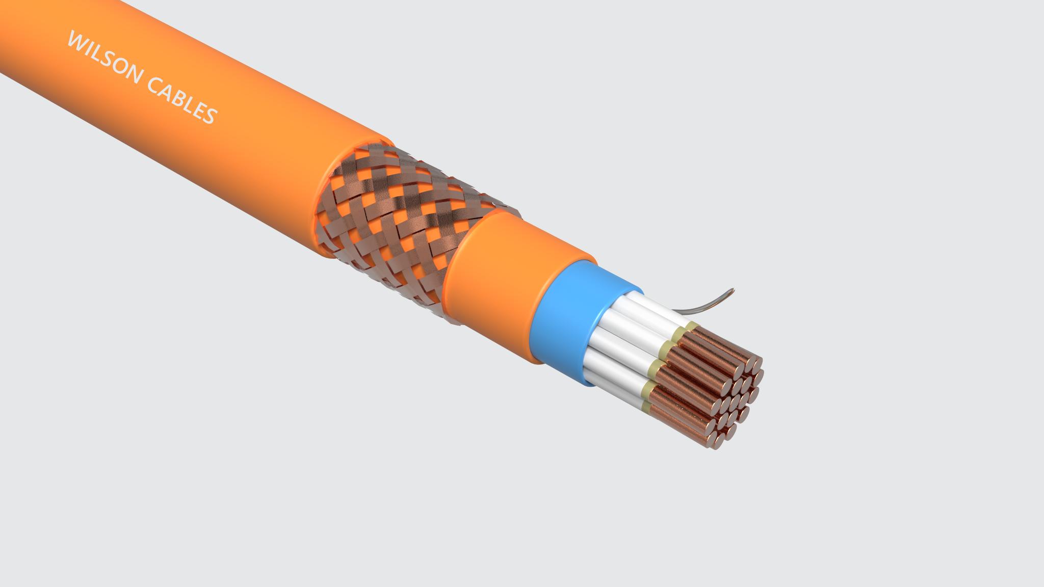 FRIM-200Q-M / FRIM-200C-M Fire Resistant Shipboard Braided Instrumentation Cables