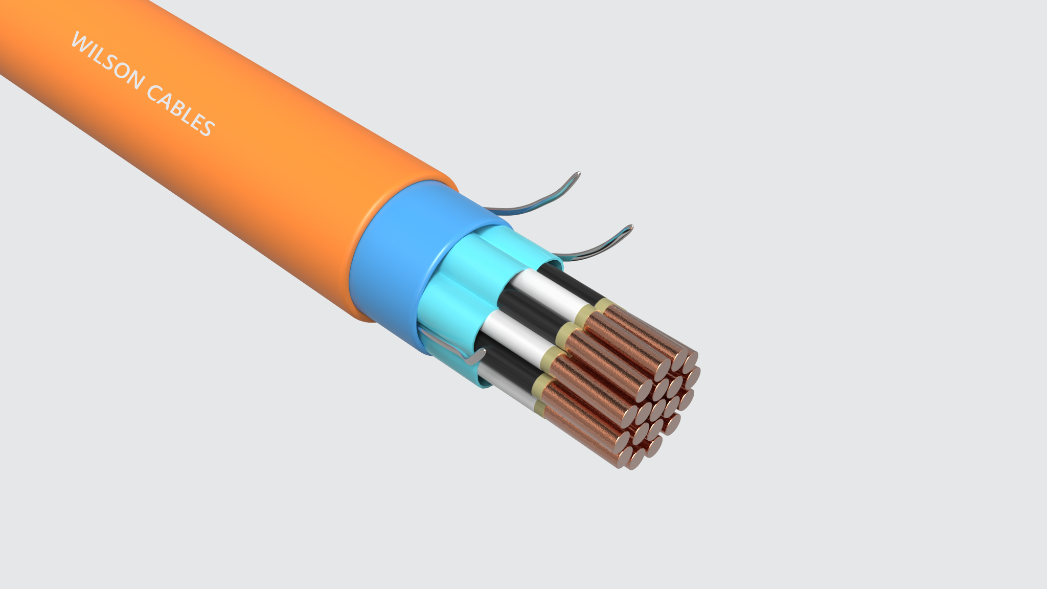 FRIP-200-M Fire Resistant Sheathed Shipboard Instrumentation Cables