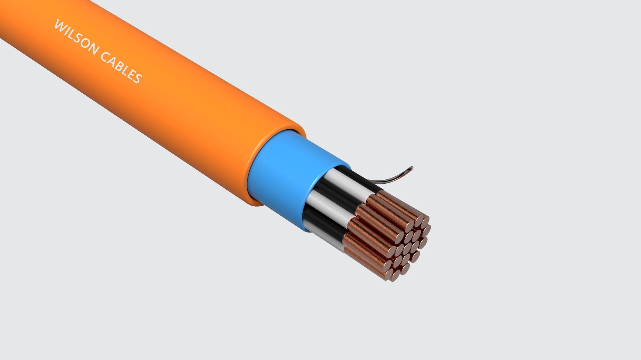 FRIC-200-M Fire Resistant Shipboard Instrumentation Cables