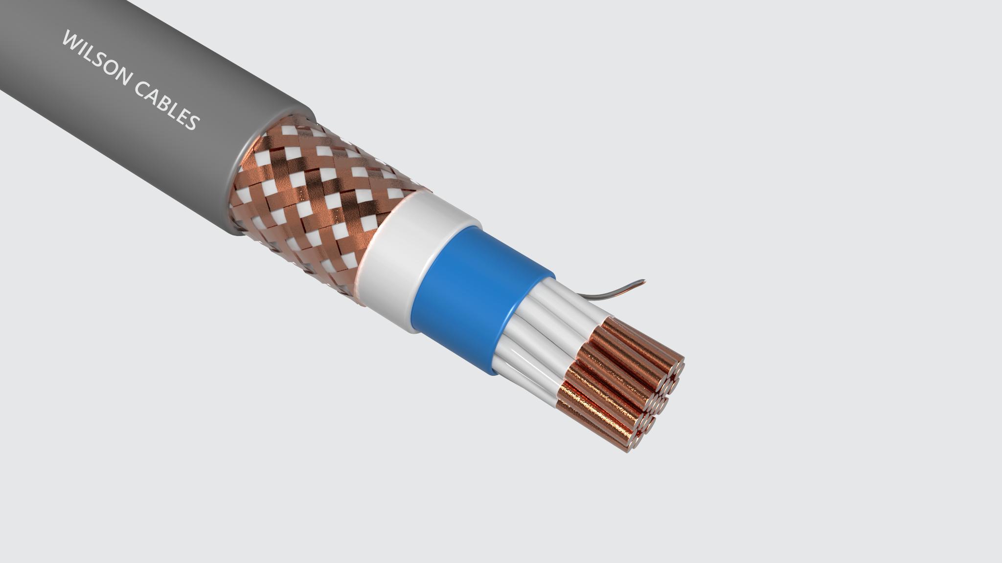 MIM-210Q (SST) / MIM-210C (SST) PVC Sheathed Shipboard Braided Instrumentation Cables