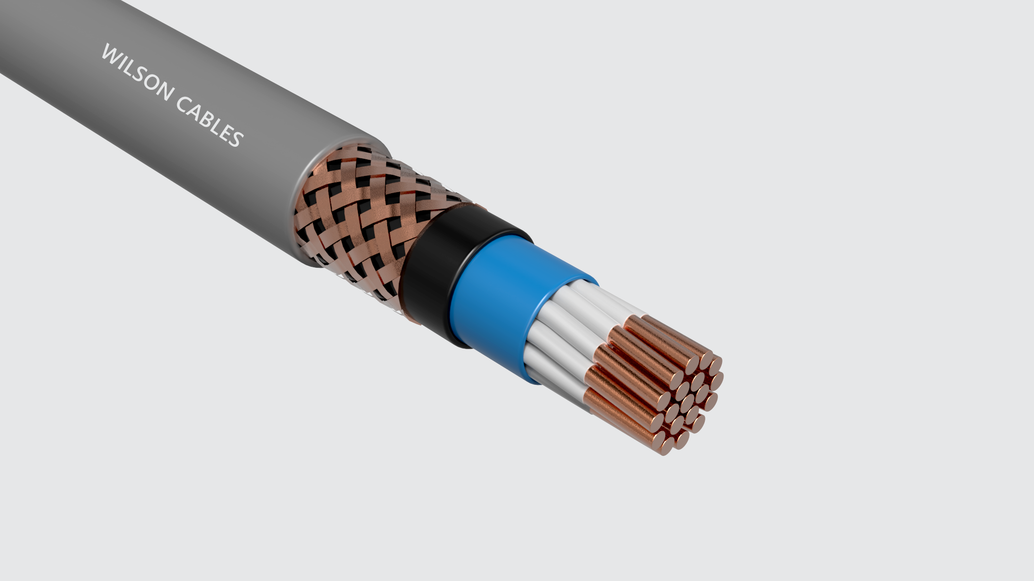 MIM-210Q / MIM-210C PVC Sheathed Shipboard Braided Instrumentation Cables